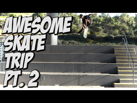 AMAZING SKATE TRIP TO SAN DIEGO Pt. 2 Feat. VINNIE BANH & TRAE MONTGOMERY - A DAY WITH NKA -