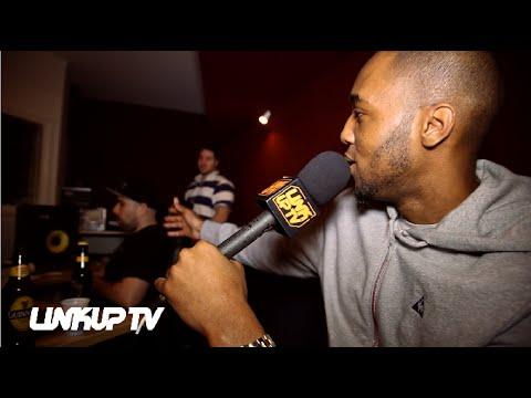 Mega & Mayhem (SAS) in studio working on Regal Rap Mixtape | Link Up TV