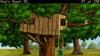 King's Quest III:  To Heir is Human:  Remake  (Part 2 - Spell Casting)