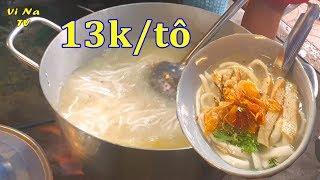 Hết hồn bánh canh rẻ nhất Sài Gòn, có người ăn 10 tô - Vi Na TV