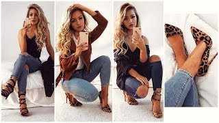 JEANS AND HEELS LOOKBOOK / OUTFIT IDEAS 2018