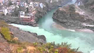 Amazing Dev Prayag on the way to Auli from Haridwar Via Rishikesh