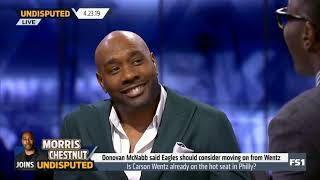 MORRIS CHESTNUT react to Lakers: 37-45 (missed playoffs 6-straight years); Lebron played in 55 Games
