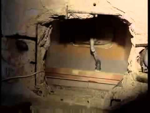 SHOWER WITH GAZA BOMB TUNNEL