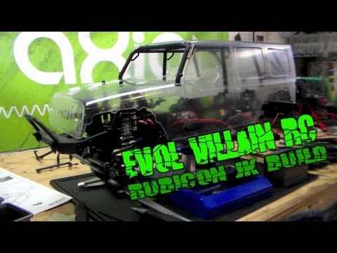 Evol Villain RC - Axial Jeep Rubicon JK Unlimited SCX10 kit build vol 1