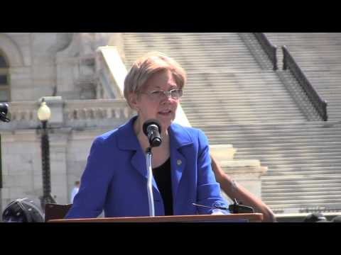 Sen. Elizabeth Warren at Central States Pension Rally