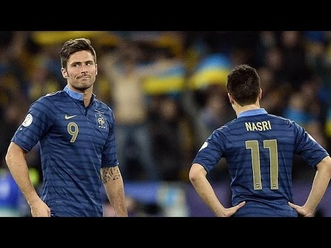 Samir Nasri vs Ukraine (A) (2014 World Cup Qualification Playoffs) By ChequeredCrown