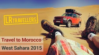 Morocco West Sahara 2015 HD Land Rover Discovery 3