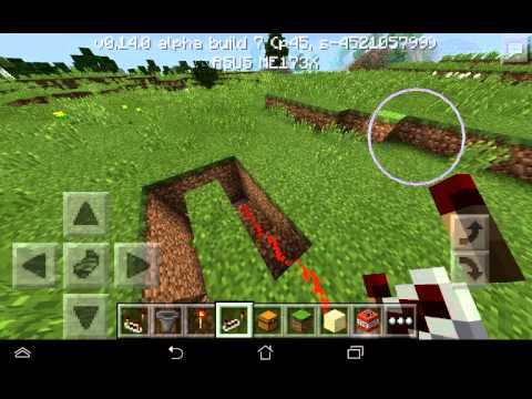 Minecraft Pocket Edition ловушки