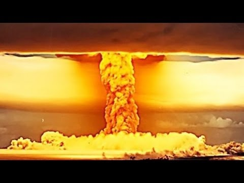 World's BIGGEST & MOST POWERFUL NUCLEAR BOMB EXPLOSION of all time! (Tsar Bomba!)