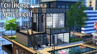 The Sims 4: Speed Build // INDUSTRIAL PENTHOUSE+ CC Links