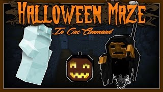 Minecraft - Halloween Maze In One Command [With BarfCreations]