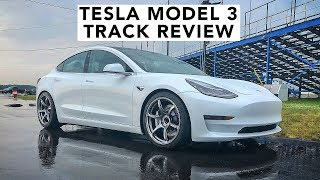 World's First Modified Tesla Model 3 Hits The Track