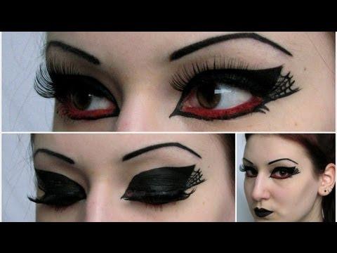 Death Rock Inspired Makeup