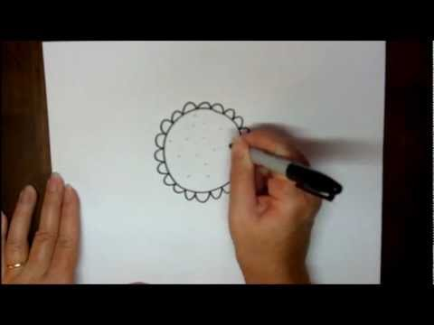 Easy to Draw Sunflower How to Draw a Sunflower Step