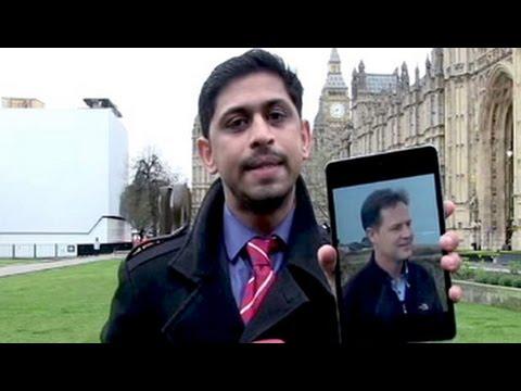 Small guys take on big boys in UK TV debate