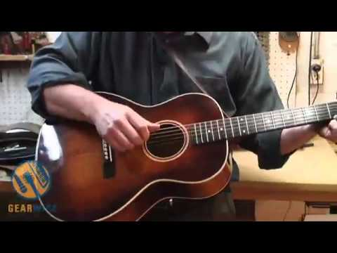 Larry Stevens Shows Us One Of His Personal Guitars Based Off Of A Gibson Nick Lucas