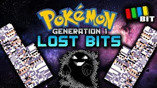 Pokemon Generation 1 LOST BITS | Unused and Cut Secrets [TetraBitGaming]