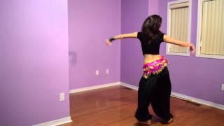 Dilraz Sidhu   Bolly-Belly Fusion Dance   Chittiyaan Kalaiyaan - Roy 2015
