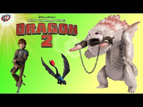 How To Train Your Dragon 2: Bewilderbeast Ice Beast Final Battle Set Toy Review. Spin Master