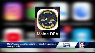 Maine Drug Enforcement Agency creates app to report drug crimes