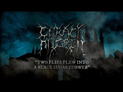 Carach Angren - Two Flies Flew into a Black Sugar Cobweb (lyric video) online metal music video by CARACH ANGREN
