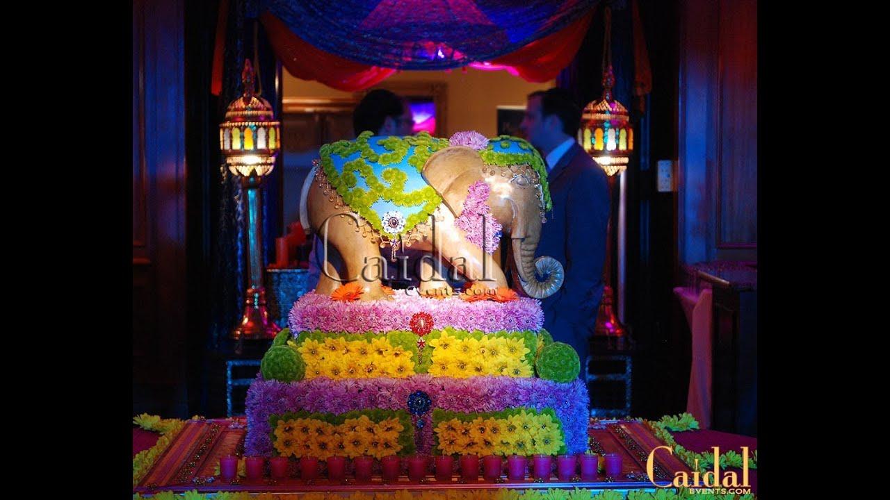Bollywood Amp Moroccan Fusion Theme Party Decor Ideas Youtube