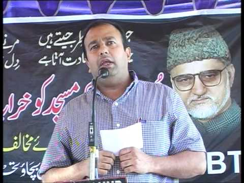 12-Speech of Amer Ali Khan,News Editor,Siasat Urdu Daily.mpg
