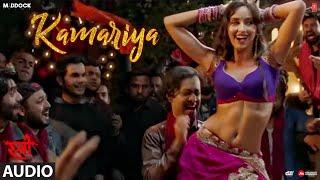 Kamariya Full Audio Song Stree Nora Fatehi Rajkummar Rao Aastha Gill Divya Kumar