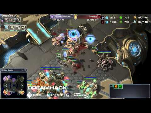 ZvP MaddeLisk vs WhiteRa Game 1 - DreamHack Open Stockholm 2013