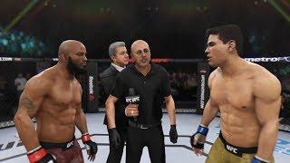 Yoel Romero vs. Paulo Costa (EA sports UFC 3) - CPU vs. CPU