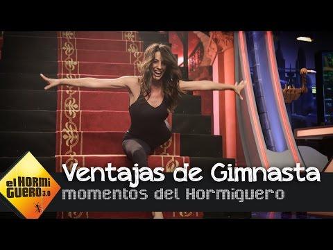 Almudena Cid nos muestra su gran elasticidad - El Hormiguero 3.0