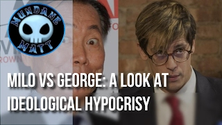 [News] Milo VS George: A look at ideological hypocrisy