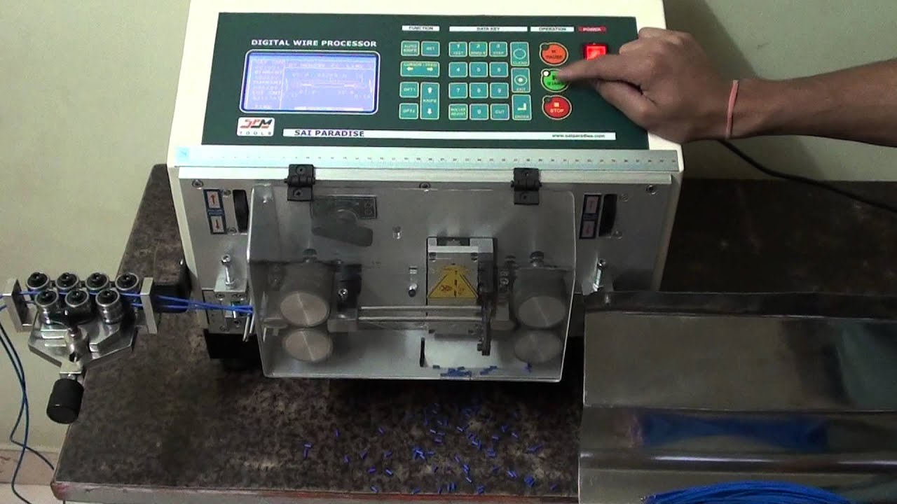 Fully Automatic Cable Cutting And Stripping Machine  Model