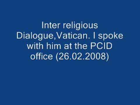 Pope Benedict XVI, PCID Vatican support Fr.Leonard  Feeney