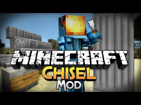 Minecraft Mod Showcase: Chisel - Build the way YOU Want!