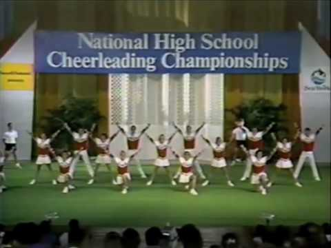 Mater Dei Cheerleading 1987 UCA Champion Video