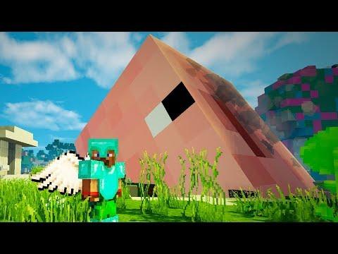Опасные битвы в Minecraft 120 - ПИГЗИЛЛА (Свинья Мутант из Космоса)