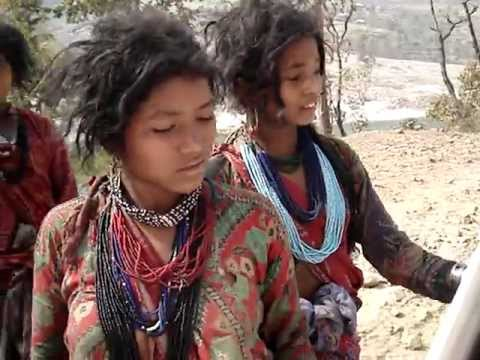 Raute Girls (Nomadic people of Nepal)