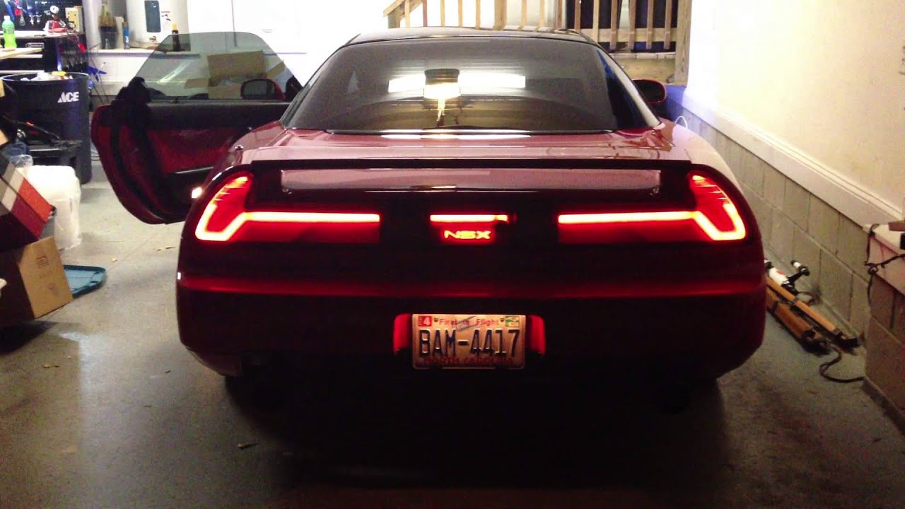 Nsx Sequential Led Tail Lights Youtube