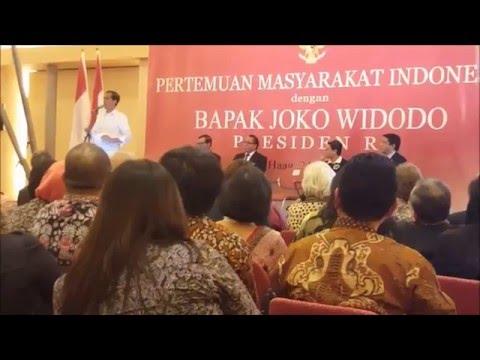 Pertemuan Masyarakat Indonesia dgn Presiden RI Bpk. Joko Widodo  1 By Wahyu Koen