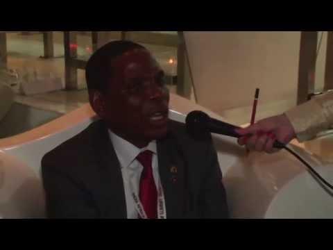 A Short interaction with Hon  Joseph Mwanamvekha Minister of Trade&Industry, Malawi