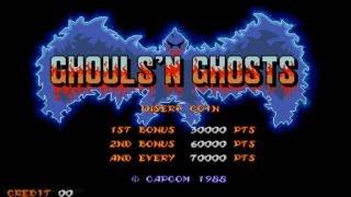 Ghouls'n Ghosts 1988 Capcom Mame Retro Arcade Games