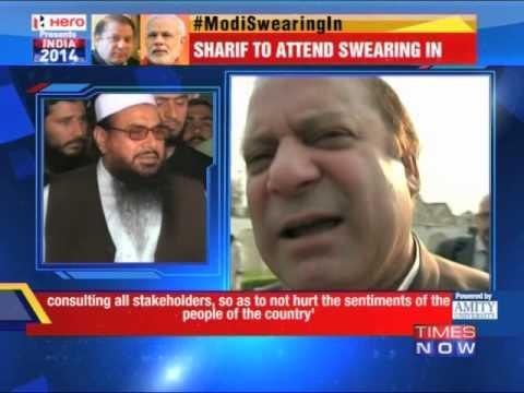 Nawaz Sharif accepts Narendra Modi's invite