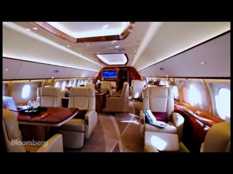 Flying Yachts: Private Jets Get $90M Makeover