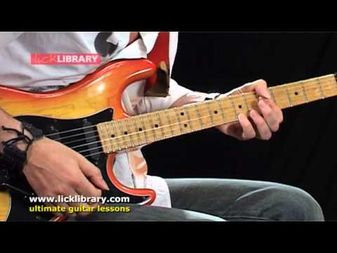 Using A Compression Pedal - Michael Casswells Guitar Shop Series Web Lessons Licklibrary