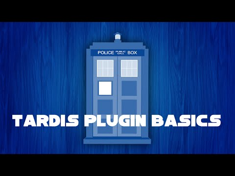 Travel in a tardis in minecraft TARDIS Plugin 2014