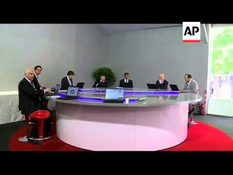 Sarkozy opens internet focused E-G8 summit