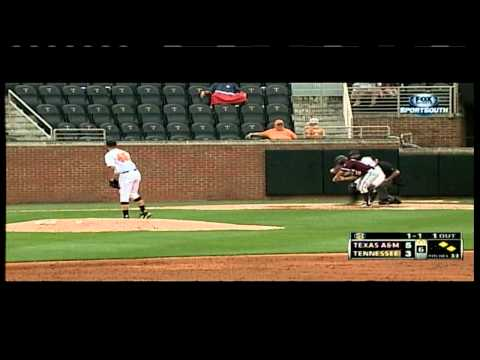 Tennessee Baseball Highlights vs. Texas A&M Game 3