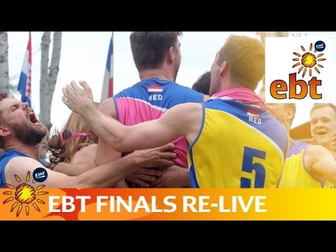 Live - European Beach Handball Tour Finals 2016 - Day 1 - Court 1 - Afternoon session